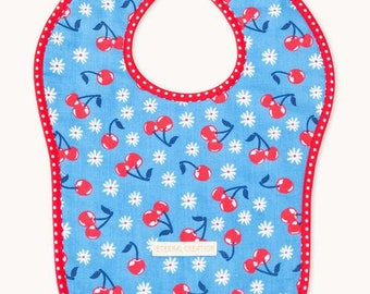 Cherries Reversible Bib
