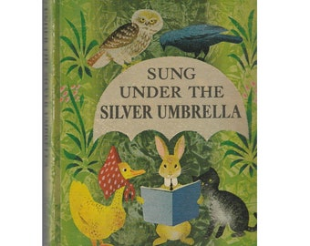 children's poetry book, Sung Under the Silver Umbrella, children's poems book, nursery rhymes book, poetry for children, poetry book
