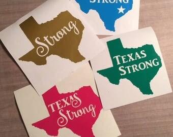 DONATE, Texas Strong, Hurricane Donation, Texas Decal, Texas Strong Decal, Donate Decal