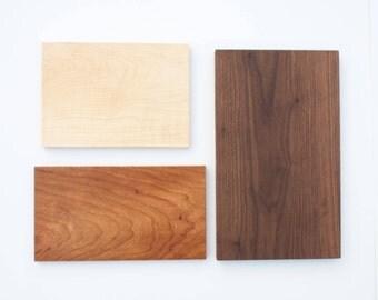 Minimalist Wood Cutting Board