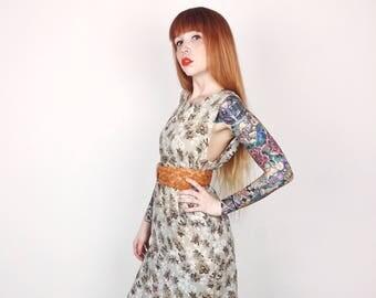 Lightweight 90's Floral Mini Dress