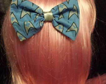 Star Trek Medical Hair Bow Clip