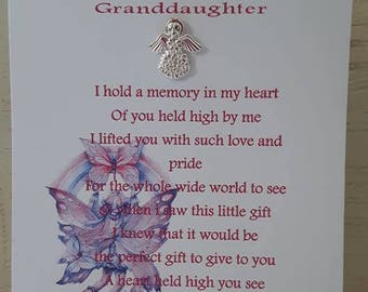 An Angel For My Granddaughter
