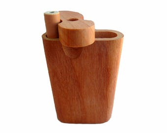 TOP QUALITY Teak wood dugout and Bonus Free one hitter