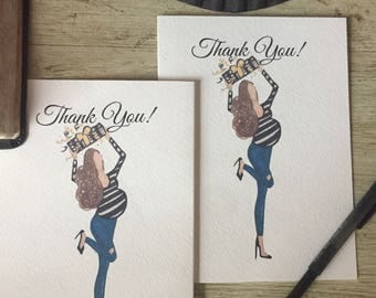 Pregnancy Greeting Cards