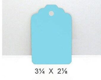 Blue Gift Tags, Bright Blue Tags, Blue Wish Tree Tags, Cardstock Tags, Blue Tags, Bright Blue Gift Tag, Wish Tree Tags, Blue Cardstock Tags