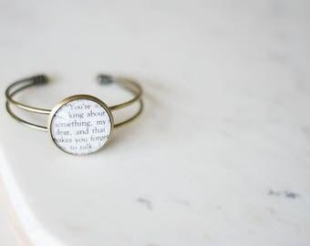 Book Bracelet Cuff