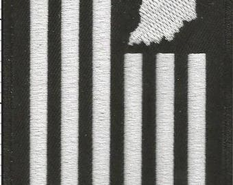 United State of Indiana Flag Iron-On Patch