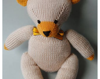 Tim cream-coloured teddy,one-of-a-kind,personalized
