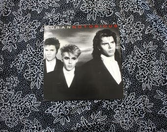Duran Duran - Notorious - Vintage Vinyl LP - Original 1986 80s New Wave 80s Dance. Collectible Rare Duran Duran Classic 80s Record