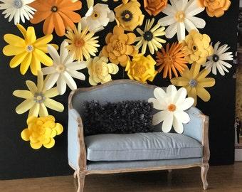 Paper Flower Wall,