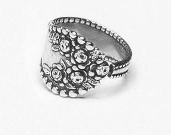 """Spoon Ring: """"Rosemary"""" by Silver Spoon Jewelry"""