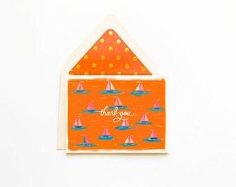 Thank you Sailboat card