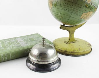 Two-tone Butler's Call Bell - Circa 1940s - Slightly Shabby - Good Clear Sound - Front Desk - Reception - Guest Bedroom - Bed and Breakfast