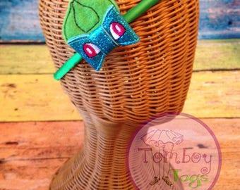 Bulba poke inspired bow headband