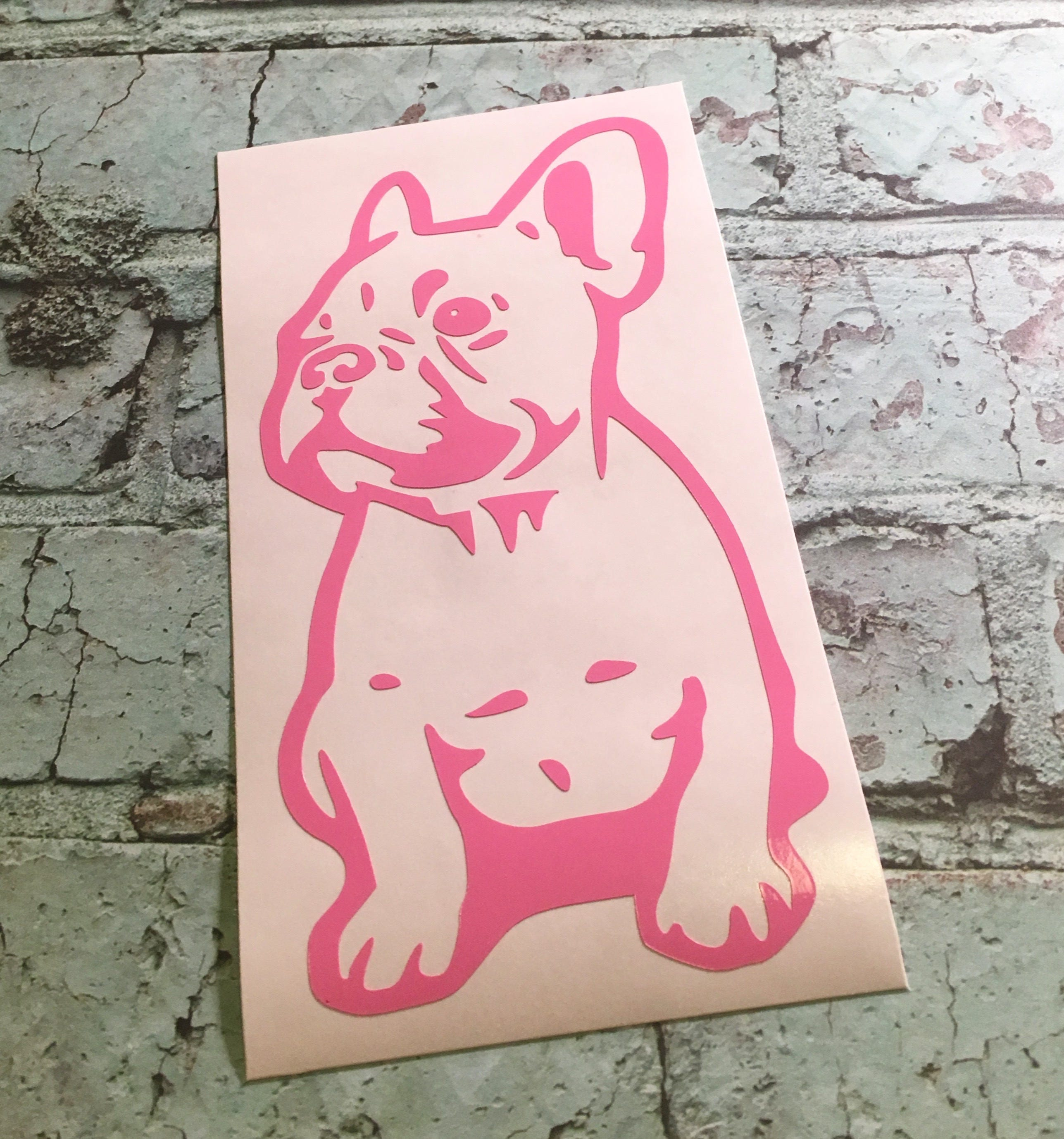 French Bulldog Vinyl Decal Frenchie Decal French Bulldog - Bulldog vinyl decals