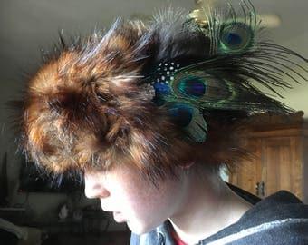 Faux Fur Head Wrap