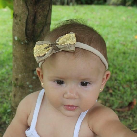 Baby bows, baby headband, Brown headbands, bow headband, bows, baby bow headband, baby girl, newborn bows, Headband Baby