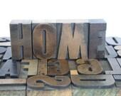 Vintage Wooden Letterpress Printing Blocks Wood Alphabet / Pick Your Letters