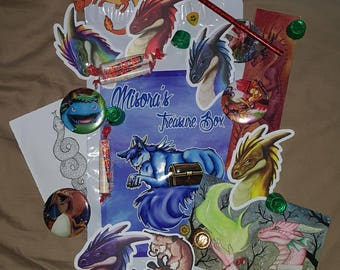 Misora's Treasure Box Monthly Swag Bag