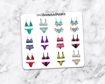 FRENCH Lingerie Stickers — pw40
