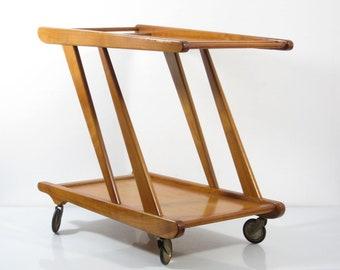 Cees Braakman style vintage Tea Trolley  -aalto, sixties, retro, eames, wegner, streamline, Loewy, mategot, perriand, mouille, poul cadovius