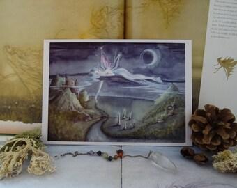 Adrift Small Art Print