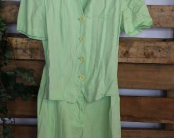 Stunning 90s Vintage Summer Culotte Short Playsuit! - 90s ibiza playsuit romper festival