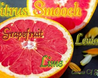 Citrus Smooch - All Natural Sugar Scrub - Body & Face