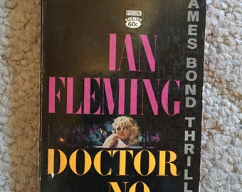 "James Bond Paperback: ""Doctor No"" by Ian Fleming"