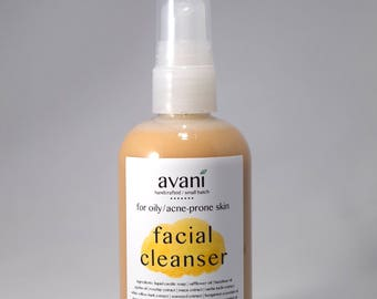 Facial Cleanser | Oily, Acne-prone Skin | 100% Organic