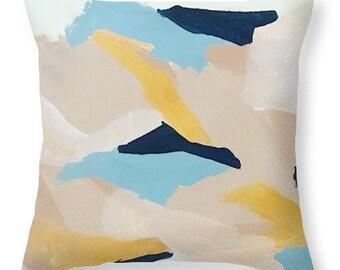 F L O W - original artwork throw cushion