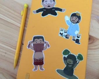 Limited Edition Impractical Jokers Sticker Packs (4 stickers)
