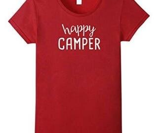 Happy Camper Luxury T Shirt