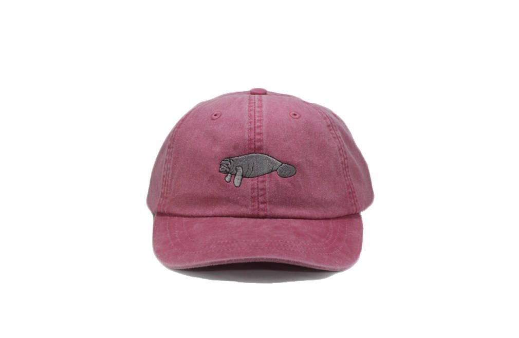 0be5e23f3a7 Manatee embroidered hat