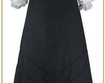 Victorian Purl Trim Skirt