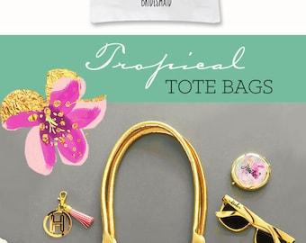 Beach Bridesmaid Gift Beach Bride Tote Bag Beach Bridesmaid Proposal Beach Bachelorette Party Ideas Beach Bridal Shower (EB3162TPB)