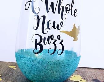 A whole new buzz/ Princess Jasmine/ A whole New World/ Aladin/ Disney Bachelorette/ Disney Bride/ Disney Girls Trip