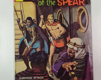 Gold Key Comics Brothers of the Spear # 11 December 1974 Vintage Comic Book