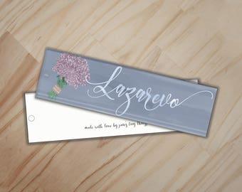Lazarevo Bookmark - The Bronze Horseman Paullina Simons Bookmark