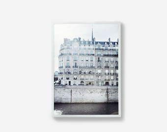 Paris, Photographic Print, Building Print, Wall Art, Paris Print, Paris Art, France, Gray Paris Photography, Print, Paris, France, Art