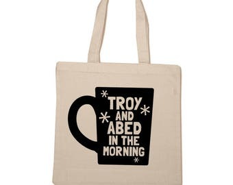 Troy and Abed in the Morning - Community - Cotton Tote Bag