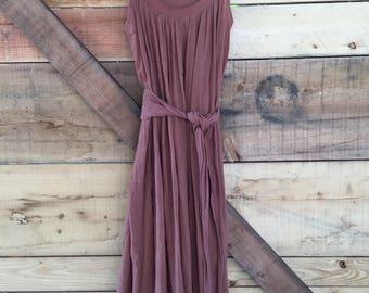 Vintage Indian Cotton Prairie Dress
