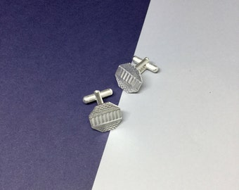 Sterling Silver Cufflinks | Gift | Wedding | Men | Fashion | Modern
