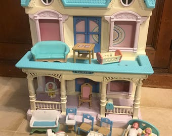 vintage fisher price etsy. Black Bedroom Furniture Sets. Home Design Ideas
