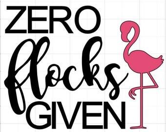 Zero Flocks Given Decal