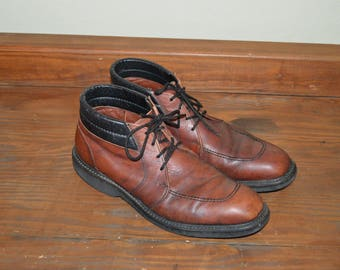 Men Size 12 Vintage Red Wing Boots Made in USA Dress Boots