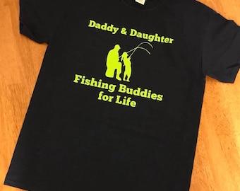 Daddy Daughter Fishing Buddies T Shirt