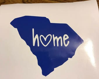 State Home Decal