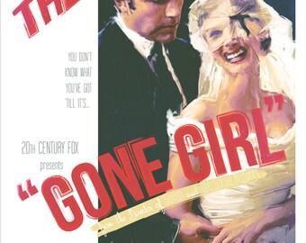 Original Vintage 'Gone Girl' Film Poster
